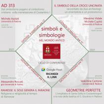 Locandina ciclo di conferenze Simboli e simbologie nel mondo antico