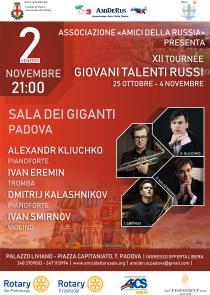 XII Tournée giovani talenti russi. Concerto