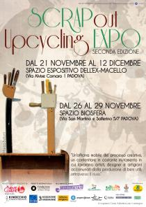 "Mostra ""SCRAPout#2"" - Upcycling EXPO 2014"