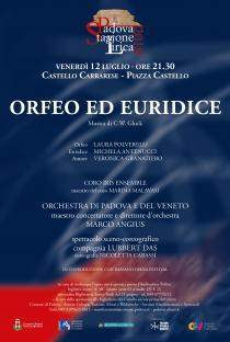 Orfeo ed Euridice di W. Gluck. Stagione Lirica 2019