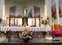 I Concerti del Centro Organistico Padovano-56 ciclo-Organo e altare santuario Madonna Pellegrina