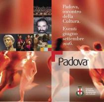 Padova. Incontro della Cultura-Programma da giugno a settembre 2016