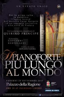 Il pianoforte più lungo al mondo