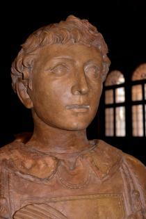 primo piano del San Lorenzo di Donatello