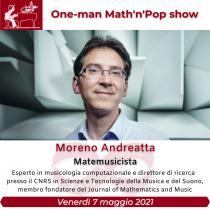 One-man Math'n'Pop show-Portello Segreto
