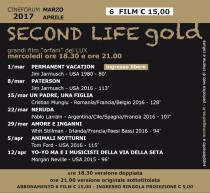 Second life gold. Cineforum Lux 2017