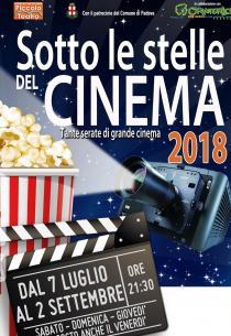 Sotto le stelle del cinema 2018. Ciclo di proiezioni estive