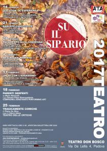 Su il Sipario 2017. Rassegna di teatro a cura di A.T.A. TeatroPadova