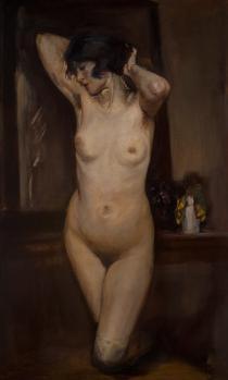 Lino Selvatico- Il guanciale viola