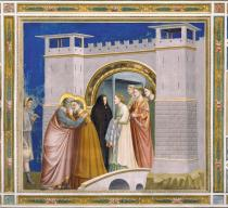 Cappella degli Scrovegni - Incontro alla Porta Aurea