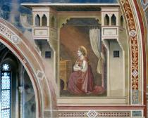affresco della Cappella degli Scrovegni con Maria annunciata