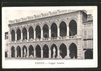 vecchia foto della Loggia Amulea