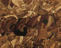 Alessandro Taglioni, tarsia su legno