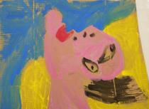 un disegno in stile Picasso