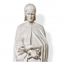 Vincenzo Vela, statua di Dante, particolare