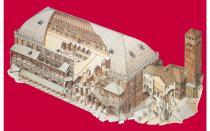 disegno di Palazzo della Ragione