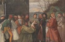 Miracolo del neonato, Scuola del Santo