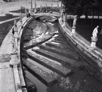Riavvio delle operazioni di prosciugamento della Canaletta del Prato della Valle e di riemersione del teatro romano. Visite allo scavo e al cantiere