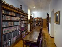 sala di lettura della Biblioteca Bottacin