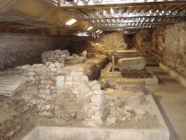 scavi sotto Palazzo della Ragione