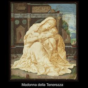 La Madonna della tenerezza di Andrea Mantegna