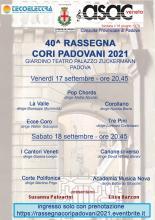 40^ Rassegna Cori Padovani 2021